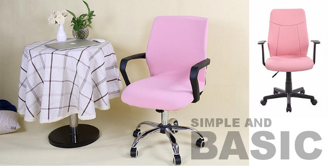 Pink office chairs for home office, small office