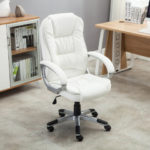 White Office Chair Executive