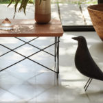 Herman Miller Made This Side Table With Trees Taken From Designer's House